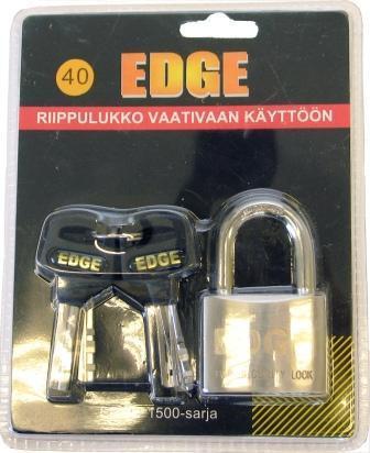EDGE riippulukko vaativaan käyttöön 1500-sarja, 40mm