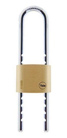 Yale messinkiriippulukko 50mm, Säädettävä sanka