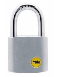 Yale kromattu messinkiriippulukko 50mm