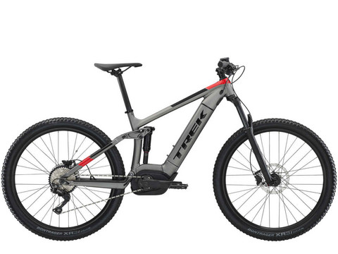 Trek Powerfly FS 5 2019 Harmaa