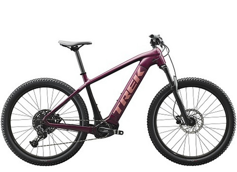 Trek Powerfly 5 Women's Matte Mulberry/Trek Black