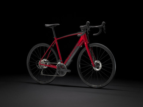 Trek Domane+ ALR Crimson Red/Trek Black