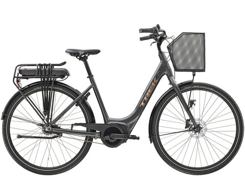 Trek District+ 1C Lowstep 500 Wh Lithium Grey