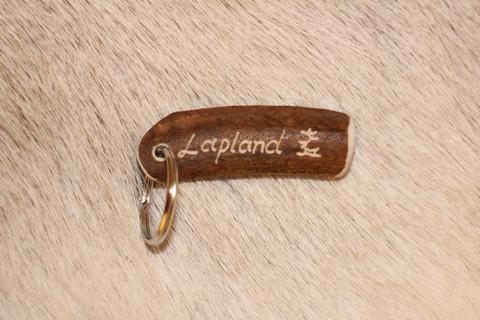 Reindeer Horn Key Ring