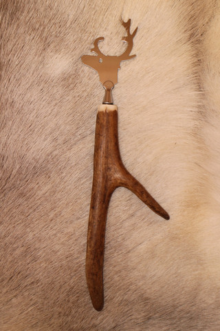 Bottle Cap Opener large Reindeer