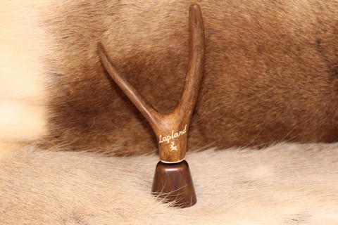 Reindeer Bell with Reindeer Horn