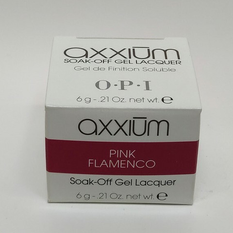 Axxium Soak-Off Gel Pink Flamenco 6g