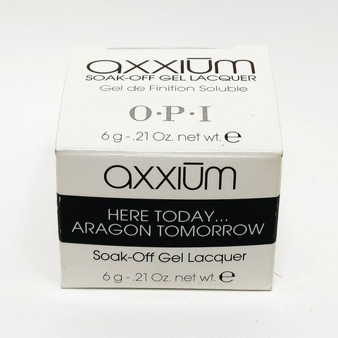 Axxium Soak-Off Gel Here Today Aragon Tomorrow  6g