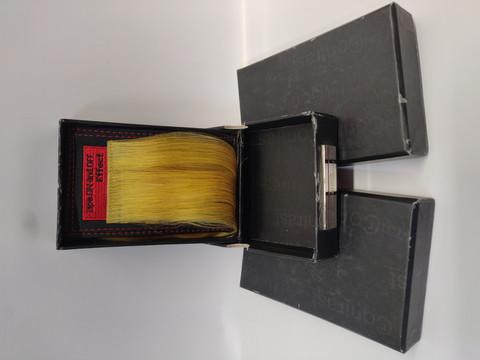 Hair Contrast - Aitohius Teippipidennys - Yellow