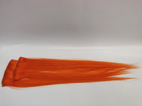 Hair Contrast - Aitohius Klipsipidennys - Orange