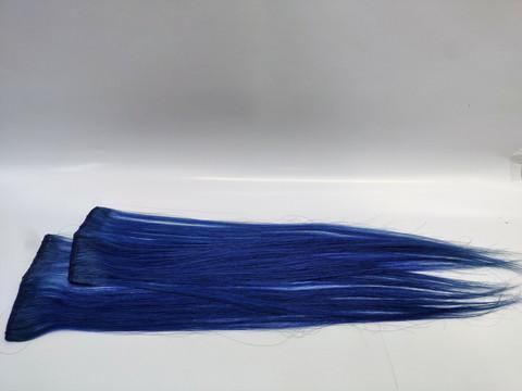 Hair Contrast - Aitohius Klipsipidennys - Blue