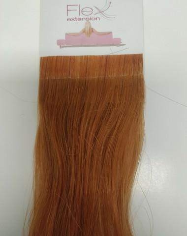 Hair Contrast - Flex - Aitohius - Kullanruskea 30cm
