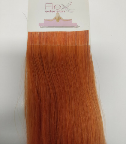 Hair Contrast - Flex - Aitohius - Orange - 40cm - Curly