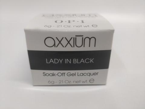 Axxium Soak-Off Gel Lady In Black 6g