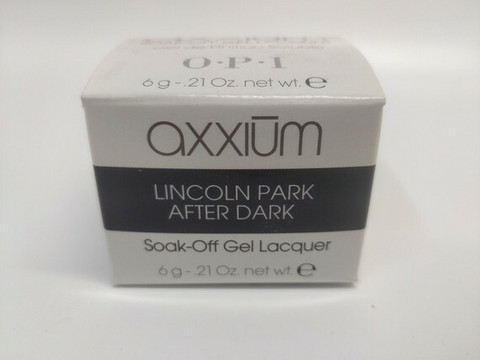 Axxium Soak-Off Gel  Lincoln Park After Dark  6g