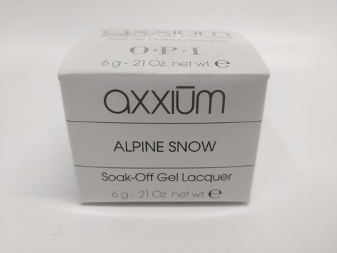 Axxium Soak-Off Gel Alpine Snow 6g
