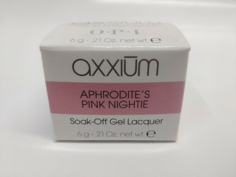 Axxium Soak-Off Gel Aphrodite's Pink Nightie 6g