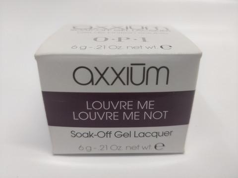Axxium Soak-Off Gel  Louvre Me Louvre Me Not  6g