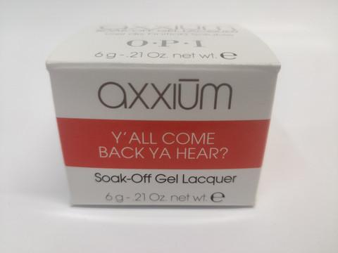Axxium Soak-Off Gel Y'all Come Back Ya Hear?  6g