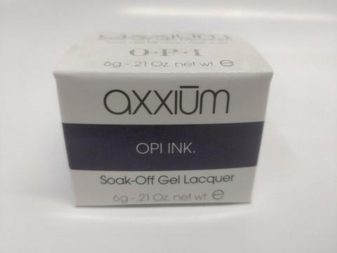 Axxium Soak-Off Gel OPI Ink 6g
