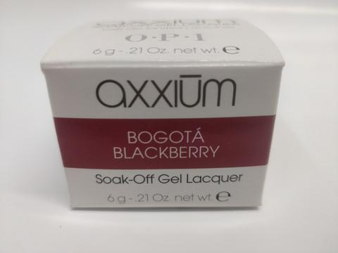 Axxium Soak-Off Gel Bogota Blackberry 6g