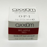 Axxium Soak-Off Gel Big Apple Red 6g