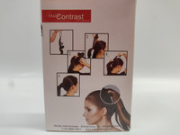 Hair Contrast - Rubber Cover Black