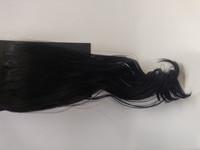 Hair Contrast - Ponytail Black