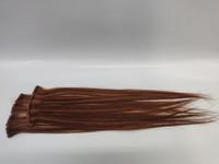 Hair Contrast - Aitohius Klipsipidennys - Caramel Brown with Highlights