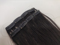 Hair Contrast - Aitohius Klipsipidennys - Black