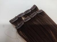 Hair Contrast - Aitohius Klipsipidennys - Dark Brown