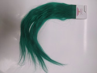 Hair Contrast - Flex - Aitohius - Green - 40cm - Curly