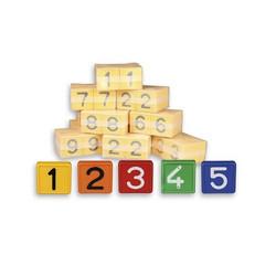 Numerolaatta kaulapantaan - numero 8 (10kpl)