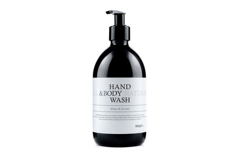 MAYN All Natural HAND & BODY WASH Mild Honey and Coconut