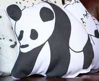 TEIJA HELIN SULO panda cushion