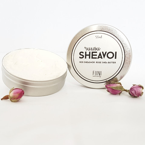 FIINI NATURALLY Rose-sheabutter