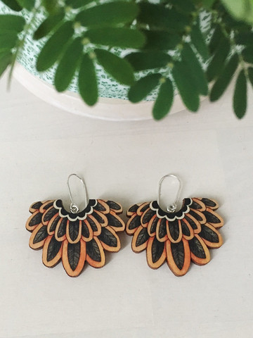 PinjaPuu TUNTURIKYYHKY -earrings