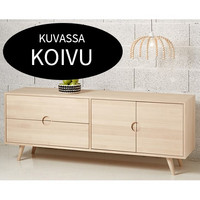 Priima Kaluste OIVA -sideboard with boxes and shelves, many colors