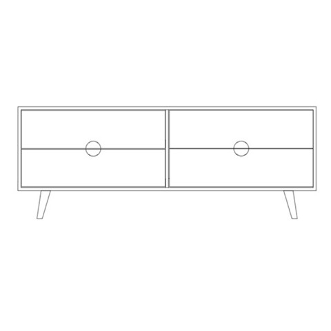 Priima Kaluste OIVA -sideboard with 2 side boxes , many colors