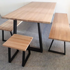 Priima Kaluste TUPA Dining table, frame work available in 2 colors