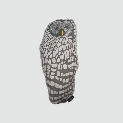 design palet OWL -pillow, nature