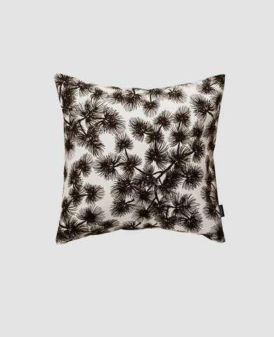 design palet PINE -pillowcase black and white