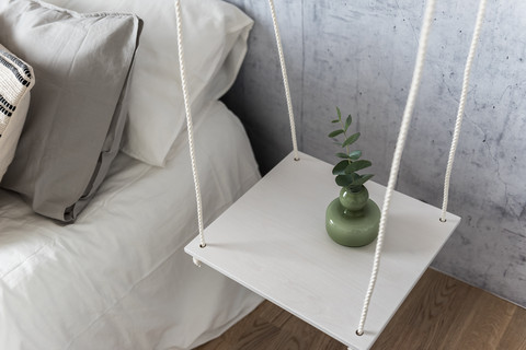 OUTLET OHTO Nordic Home -KAITA Hanging side table, white