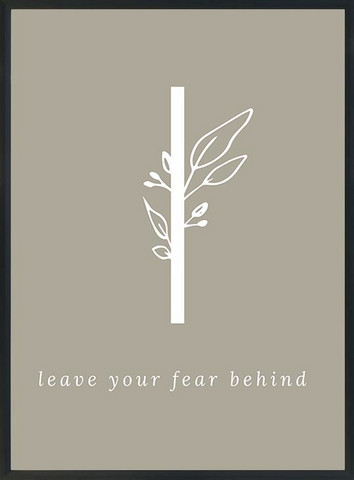 KOHTEESSA l - leave your fear behind -juliste A3