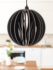 OHTO Nordic Home -HELMI Design Lamp, black
