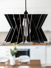 OHTO Nordic Home -SÄDE Design Lamp, black