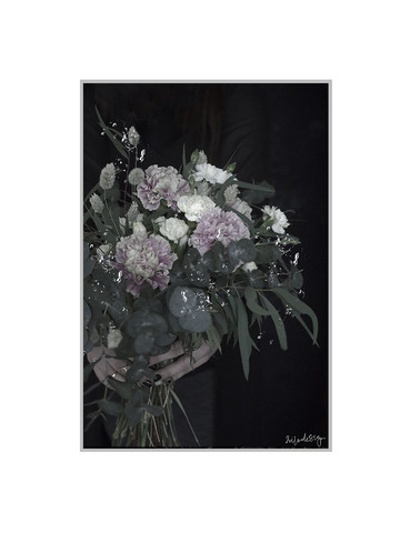 2xILO Poster A3 My pretty bouquet