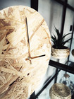 OHTO Nordic Home -LASTU Wall Clock, naturel/gold
