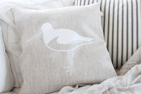 TEIJA HELIN DESIGN cushion cover, beige.
