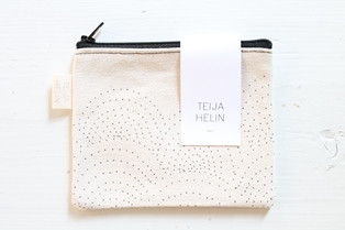 TEIJA HELIN DESIGN  - case for cards and coins or make up.